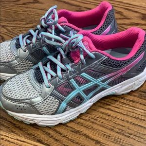 Girls size 3.5Y ASICS sneakers